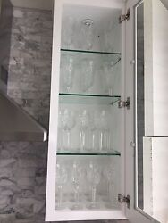 Waterford Crystal Set Of 36 Champagne Wine Water Glasses