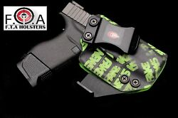 Fake News Iwb-kydex Holster Ccw Concealed-carry With Internal Claw