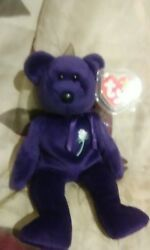 Princess diana beanie baby 1997 1st Edition made in China Perfect Condition