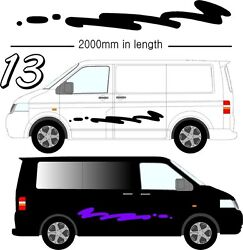 Graphic Decals Self Adhesive Vinyl Stickers Any Vehicle Vw Campers Motorhome D13
