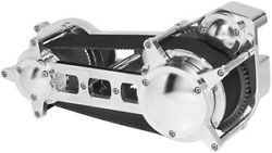 Ultima Polished 3.35 Drag Race Style Belt Drive For Harley Dyna Models And03990-and03906