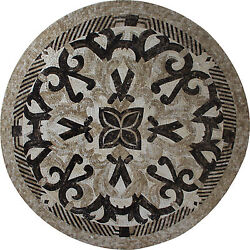 55 Tribal Design Floor Wall Accent Garden Pool Home Marble Mosaic Md1745