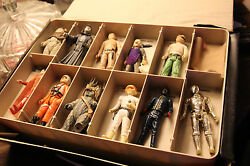 Star Wars The Empire Strikes Back Vinyl Case And Star Wars Figures From 1977-1985