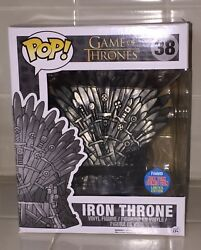 Funko Pop Nycc 2015 Game Of Thrones Iron Throne 38 Exclusive Comic Con Sdcc 1