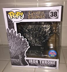 Funko Pop Nycc 2015 Game Of Thrones Iron Throne 38 Exclusive Comic Con Sdcc 2
