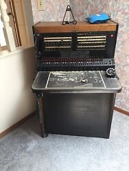 vintage telephone switchboard