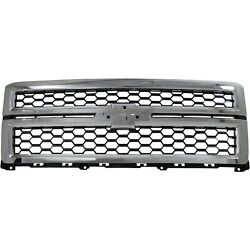 New Grille Grill For Chevy Chevrolet Silverado 1500 Truck Gm1200696 23259620