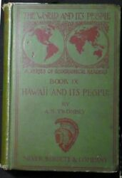 Hawaii And Its People The Land Of Rainbow And Palm Twombly 1900 Hbk Illusts Vg