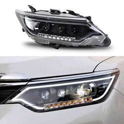 HID Xenon+Ballast+LED Direction Headlights Assembly Adorn For Toyota Camry 13-15
