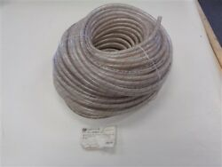 Nexaqua Red Tracer Reinforced Clear Pvc Water Hose 250' X 3/8 Marine Boat