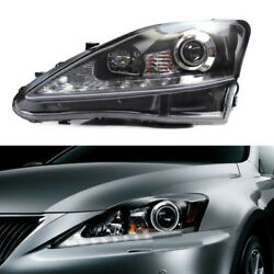 LED DRL+Xenon Headlamp Assembly Fit For Lexus IS250IS300 IS350IS F Sport 06-13