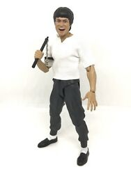 NOX BL T: FIGLot 1 12 fabric white Top for SHF Bruce Lee No figure