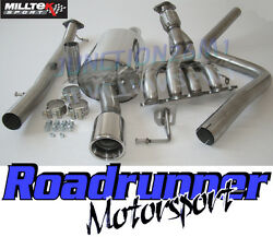 Milltek Fiesta St150 Exhaust Manifold De Cat Pipe And Non Res Cat Back System New