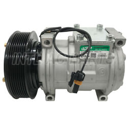 NEW 10PA17C auto car Air conditioning ac compressor for John Deere Loaders 8pk