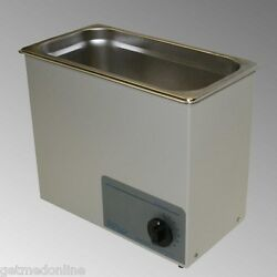 New Sonicor Stainless Steel Tabletop Ultrasonic Cleaner 2.5 Gal S-200t