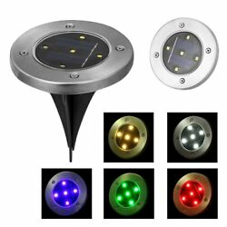 5 LED Solar Power Garden Lamp Spotlight Outdoor Lawn Landscape Waterproof Lights