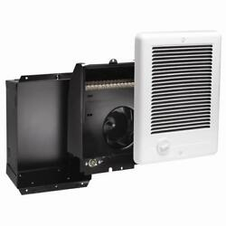 In-Wall Electric Heater Fan-Forced Bathroom Bath Recessed Surface Mount 240-Volt