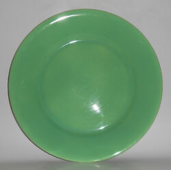 Franciscan Pottery El Patio Apple Green 21 Buffet Supper Plate
