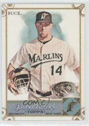 2011 Topps Allen And Ginter's Ginter Code Puzzle Border John Buck 302