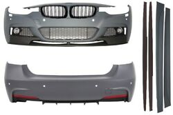 Body Kit BMW F30 11+ M-Performance M-Sport Look Bumper PDC Twin Outlet+Grille