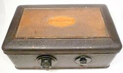 Vintage Atwater Kent 40 Breadbox W/ Power Supply / Good Tuning - Untested