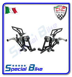 Ducati Monster S4rs 998 2006 2008 Cnc Racing Adjustable Rear Sets