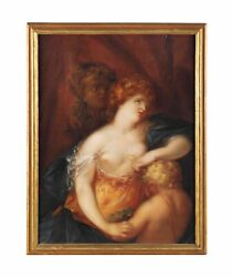Ex- Christieand039s 17th / 18th Century Oil Painting Death Cleopatra Flemish School