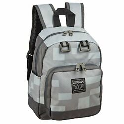 Minecraft Backpack For School Daypack Miner Mini Boys Travel Book Bag Accessory