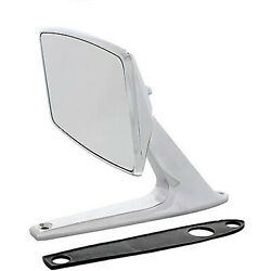 67 68 Ford Mustang Falcon Fairlane Chrome Outside Rear View Right Or Left Mirror
