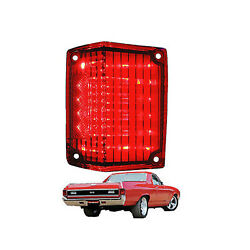 70 71 72 Chevy El Camino Red Led Lh Driver Side Tail Brake Signal Light Lens