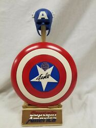 Sideshow Signed Stan Lee Marvel Archivecaptain America 14 Scale Replica Shield