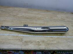 1979 Bmw R100 Rt Rs Airhead S785. Left Exhaust Muffler Tail Pipe