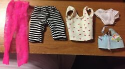 BARBIE ACCESSORIES LOT SHOES HANGERS COMBS DISHES CLOTHES OVER 100 PIECES $19.99