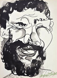 Pablo Picasso Lithograph Portrait Of Man Big Beard Free Framing/shipping