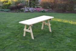 Aandl Furniture Amish-made Pressure-treated Pine A-frame Picnic Tables - 4 Sizes