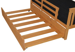 Versaloft Amish-made Pine Full Trundle By Aandl Furniture Co Bed Sold Separately