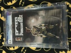 Peter Panzerfaust 8 9.8 Cgc Graded Slab Image 1st Appearance Of Hook