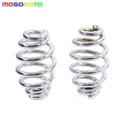 New Motorcycle Barrel Coiled Solo Seat Springs For Harley Softail Bobber Chopper $8.26