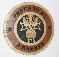 Knights Of Columbus - 4th Degree - Laser Cut 3d Wood Wall Tribute Plaque 11¼