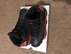 Retro 13andrsquos Jordands. Red And Black High Top Jym Shoes. Limited Edition.andnbsp