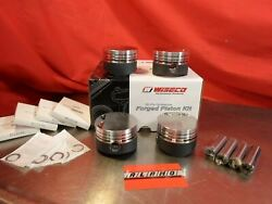 Wiseco Forged Pistons Toyota Starlet Glanza Ep82 Ep91 4e 5e Turbo 91 75mm
