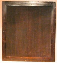 Vintage Philco Radio Console Back Door Panel - 21 And 3/8 X 23 And 7/8