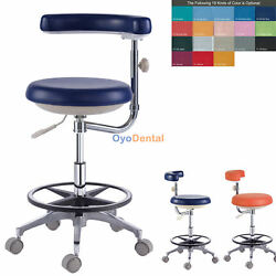 Medical Dental Nueseand039s Chair Doctorand039s Stool Adjustable Mobile Chair Pu Leather