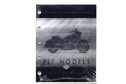 Factory Spare Parts Book For 1999 Flt For Harley-davidson