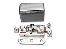 Solid State 6 Volt Relay With Smooth Chrome Cover For Harley-davidson 1938-1957