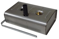 Universal Stainless Steel Fuel Or Gas Tank - 16 Gallon - Remote Fill - Utss-2h