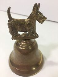 VINTAGE BRASS SCOTTISH TERRIER  SCOTTIE 4