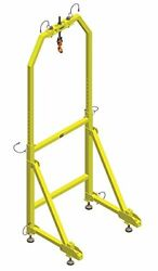 MSA Safety IN-2241 Jib Adapter for Lateral Entry