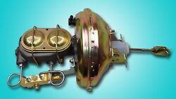 68-72 Gm A Body 11 Inch Power Brake Booster Master Cylinder Proportioning Valve