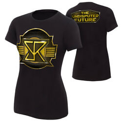 Seth Rollins Undisputed Future Authentic Womens Black T-shirt